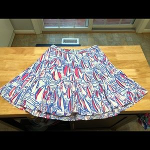 Ava Fit and Flare Skirt